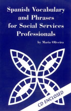 Graphic: Spanish for Social Services on CD